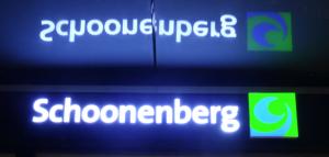 Schoonenberg lichtreclame