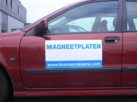 2 magneetplaten portieren