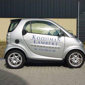 Kooijman & Lambert notarissen autobelettering