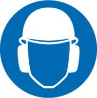 Gehoorsbescherming-helm