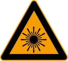 Laserbestraling