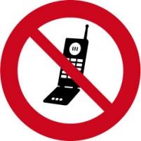 Mobiel verboden