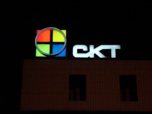 Lichtreclame CKT