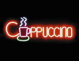 cappuccino neon