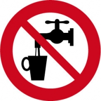 geen drinkwater