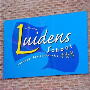 reclamebord Luidensschool