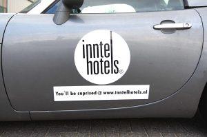 Inntel Hotels magneetplaten in vorm