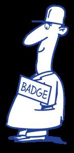mannetje-met-badge-II