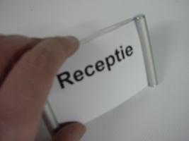receptiedisplay