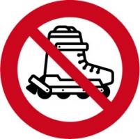 skating verboden