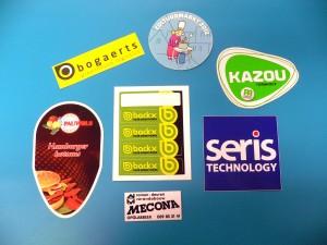 Stickers in allerlei uitvoeringen