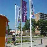 Vlaggen voor winkelcentra