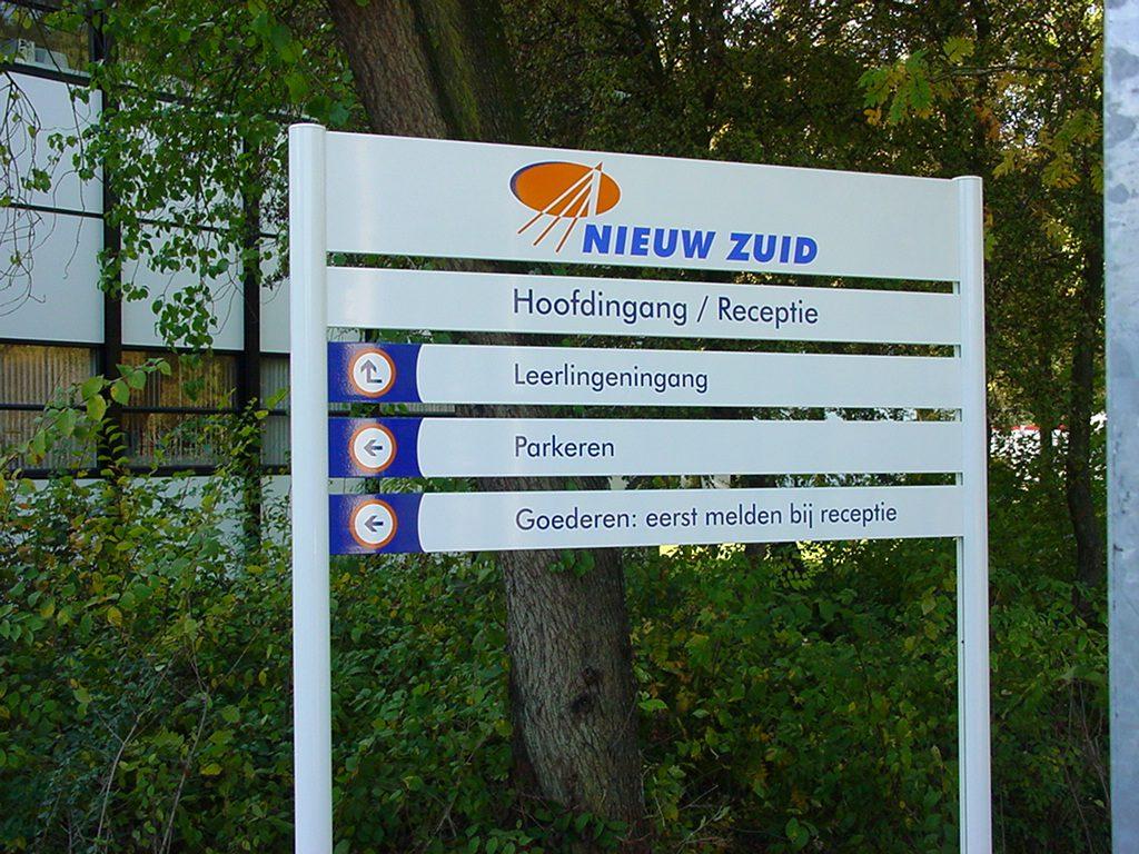 Bewegwijzering Rotterdam