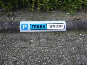 Trebu parkeerbord