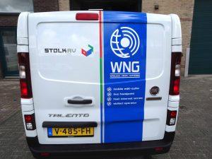 WNG bussticker