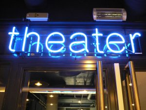 Theater neonletters