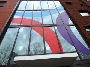 driestar raambestikkering