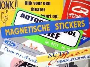 magnetische stickers