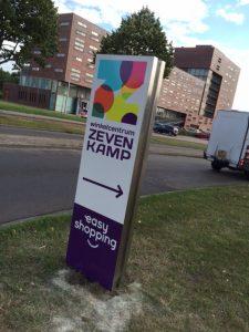 Zevenkamp reclamebord