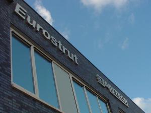 Eurostrut RVS letters