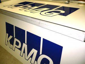 KPMG reclameborden