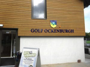 Golf Ockenburgh belettering