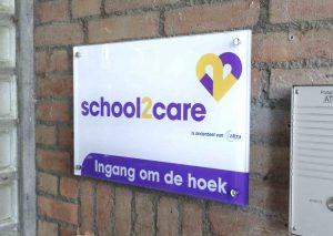 naamplaat acrylaat School2care