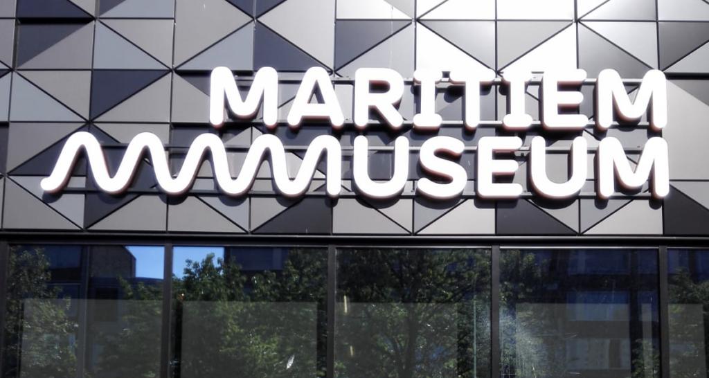 Lichtreclame Maritiem Museum